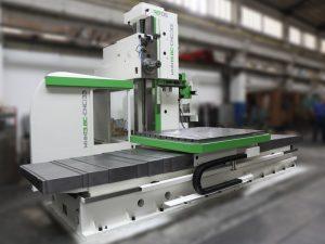 WHN 13.8 CNC po renovaci / Generální opravy - modernizace strojů