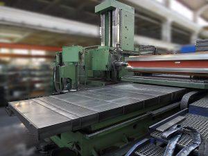 WHN 13.8 CNC před renovací / Generální opravy - modernizace strojů